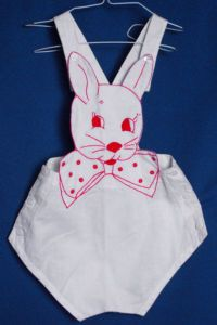 bunny overalls