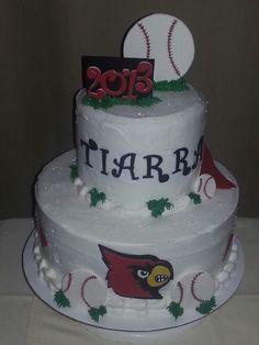 University of Louisville cake
