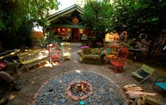 Awesome fire pit.