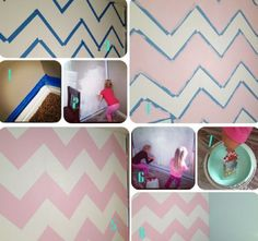 Paint A Chevron Wall