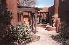 Santa Fe style patio
