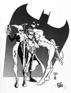 robin, lot, comic art
