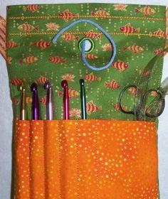 Crochet Yarn Bag - SewingForSarah.Webs.Com