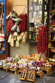 Regional Delicacies - Tropea, Calabria, Italy