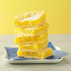 Macadamia Lemon Bars Recipe from Taste of Home -- shared by Edie DeSpain of Logan, Utah