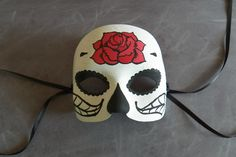 laurendy: DIY Day of the Dead Mask