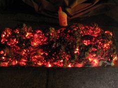 Glowing coals effect