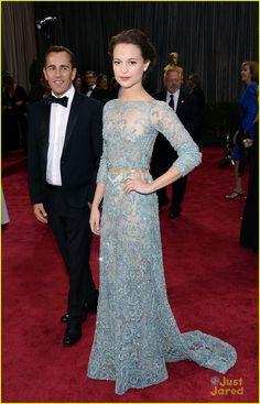 Alicia Vikander Oscars 2013