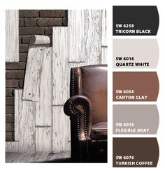 "FLEXIBLE GREY - Paint colors from Chip It! by Sherwin-Williams - for the ""hallway"" wall on main floor"
