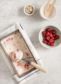 Tart Cherry Frozen Yogurt  Image Via: Love and Lemons