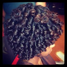 Crochet Braids/ Latch Stitch Weaving by Takeisha at A Natural Affair ...