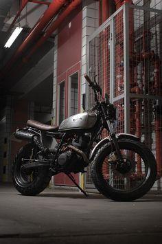 Custom Burner Motorcycle