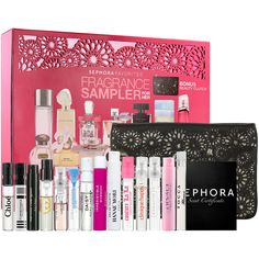 Sephora Favorites Fragrance Sampler For Her #Sephora #Giftopia #gifts #holiday2013