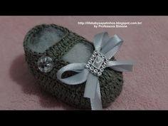 Sapatinhos de Crochê By Professora Simone