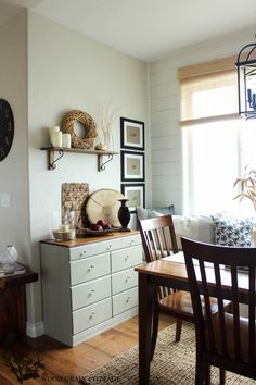 Fall Home Tour  with The Wood Grain Cottage