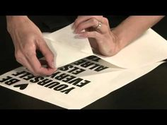 Using the Silhouette Cameo to cut vinyl - video demonstration  #cameo #vinyl #video