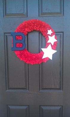 July 4th Wreath :)