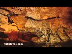 ▶ The Dordogne, France: Lascaux's Prehistoric Cave Paintings - YouTube 4:33  Awesome!