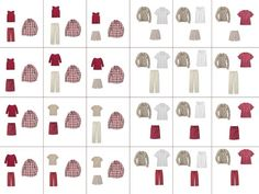 The Vivienne Files: Building a wardrobe: by fours