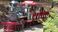 Howarth Park in Santa Rosa, CA--lots of awesome features, including a small steam engine (I hope we can snag a ride while we are in Cali!)