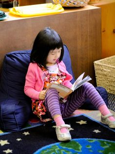 Applying Montessori Ideas When Reading With Your Child from LePort Schools