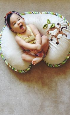 The Boppy Pillow is perfect for breastfeeding, nursing, propping, and tummy time. One of the must-have baby products, great baby shower gift idea! #product_design #baby