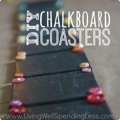 chalkboards, craft, gift ideas, diy gift, diy chalkboard