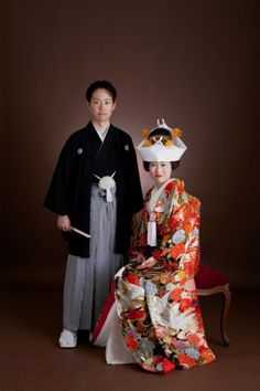 Traditional Japanese wedding outfits