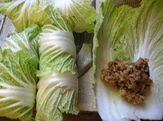 Martha Stewarts stuffed cabbage