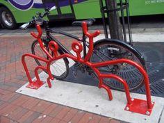 A craby #bike rack