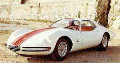 '65 Pininfarina Alfa romeo Giulia 1600 Tubolare Zagato (TZ)