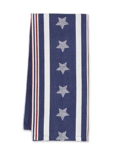Bold Stars & Stripes Towels, Set of 2, $24.95, Williams Sonoma