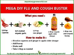 DIY Flu and Cough Buster
