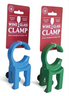 Wine & the Beach.  Fits easily to many types of camping chairs and will hold your wine glass securely and out of harm's way. So now you can relax and enjoy your well-earned glass of wine from a stemmed wine glass without the usual hassle.