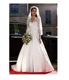 A royal wedding dress
