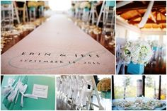 tiffany blue wedding ceremony, centerpiec, dream, tiffani blue, tiffani aisl, blue weddings