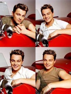 Young Leonardo DiCaprio.