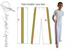 Pantalon de capoeira JC - Menino Afro blanc(enfant) de capoeira, capoeira homm, abada de, capoeira enfant, afro noir, jogando capoeira, capoeira femm, capoeira jc, pantalon de