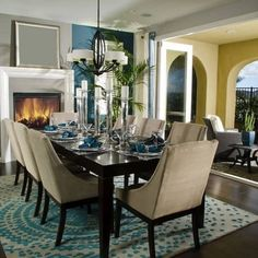 Majestic dining room