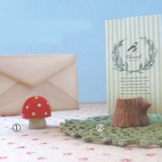 Cute Mini Card Stand from Decole Japan!