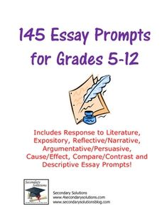 Reflective Essay Prompts