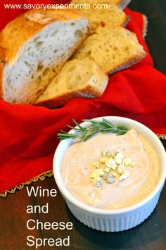 Wine and Cheese Spread