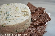 Herbed Cashew Cheese Spread   Almost Raw Vegan