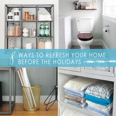 8 Ways to Refresh Your Home Before the Holidays