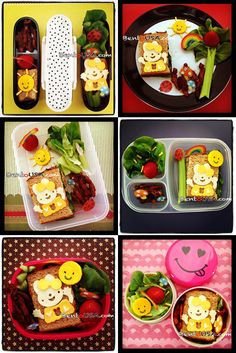 Bento Beginners Guide. Same lunch with different bento containers