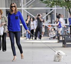 walking the dog style