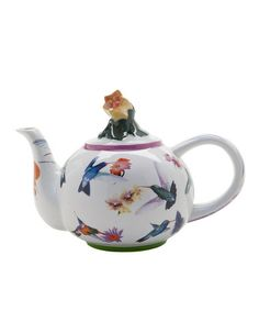 Take a look at this Hummingbirds Two-Cup Teapot by Cardew Design on #zulily today!