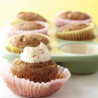 Apple-Spice cupcakes