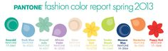 Pantone Fashion Color Report Spring 2013 - The Balancing Act