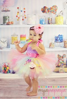 Sweet Shoppe Tutu Dress 12months-5t  Candyland, Carnival, Sweet Shop Brithday dress Cupcake on Etsy, $69.00